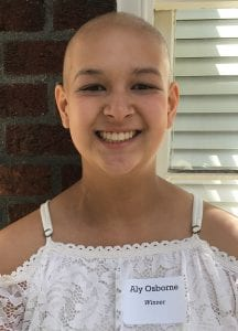 Winner of the 2019 Cancer Unwrapped Teen Writing Contest