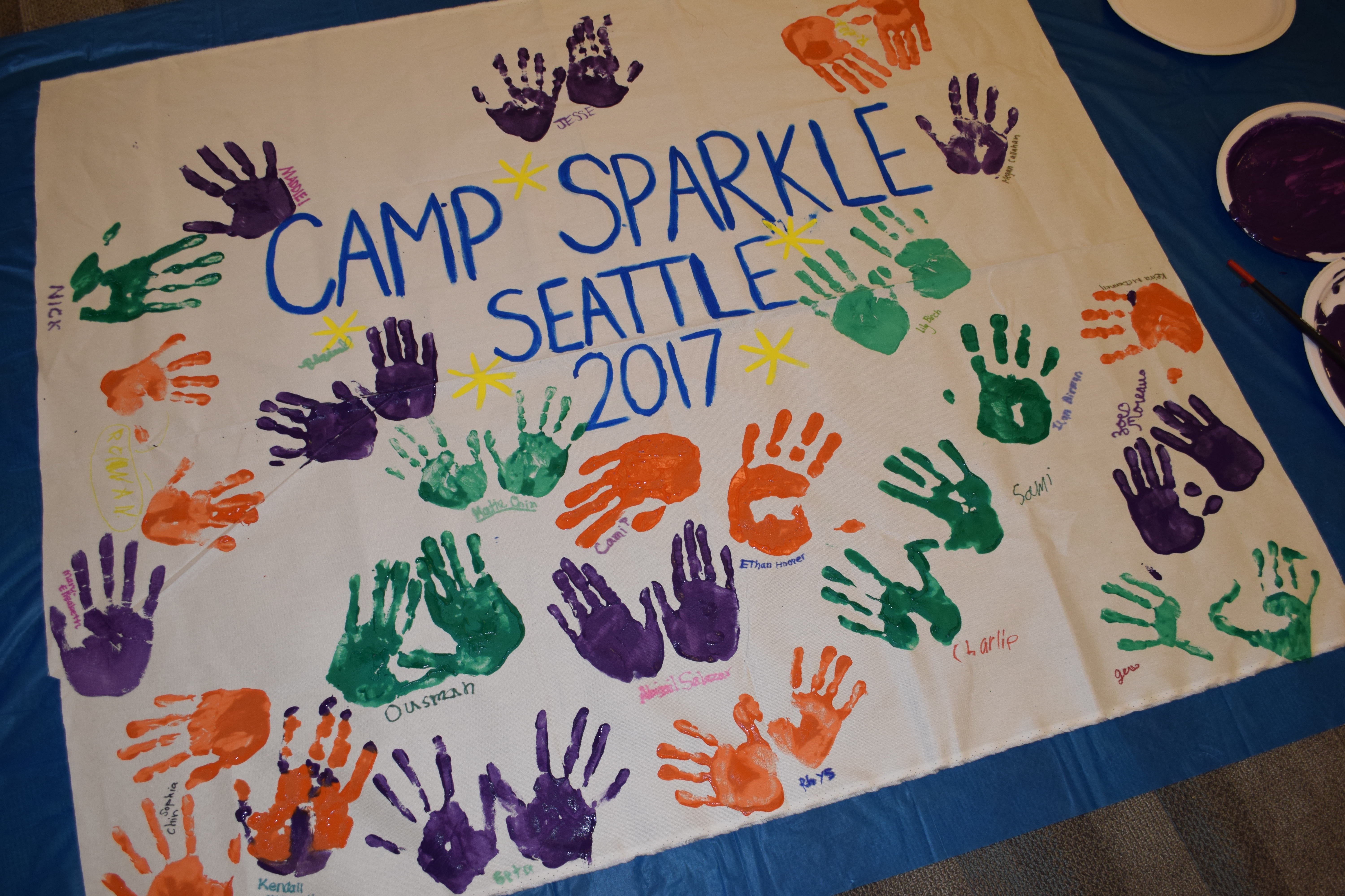 Camp Sparkle Seattle