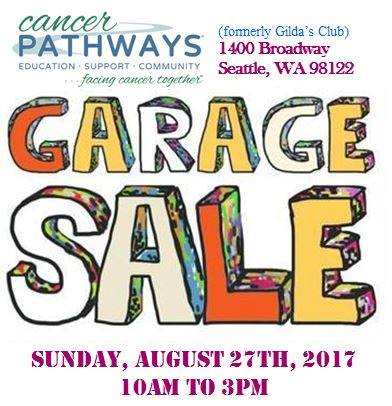 Attention Shoppers!  Our Garage Sale is Coming Up!